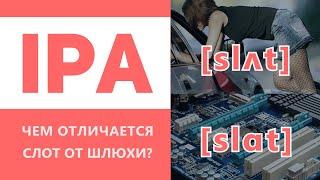 МФА - Международный фонетический алфавит IPA. Как читать транскрипцию.