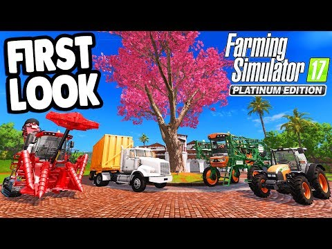 Farming Simulator 17: PLATINUM EDITION | ALL NEW Map & Features Gameplay