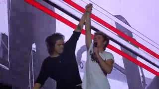 One Direction - C'mon C'mon - FRONT ROW Pasadena 13-Sept-14 HD
