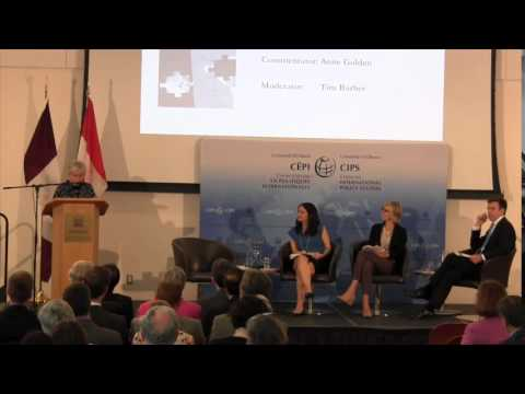 The Ottawa Forum, Session 3: Innovation, competitiveness and cities