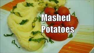 Mashed Potatoes Italian Food Dinner Idea #italianfood