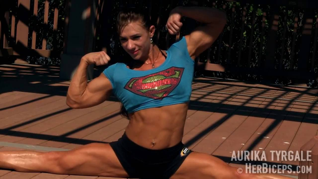 Russian Female Gymnast Muscle - Youtube-5682