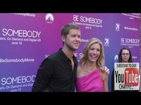 Tava Smiley and Lauder Robinson at the Los Angeles Premiere Of Be Somebody at ArcLight Theatre in Ho
