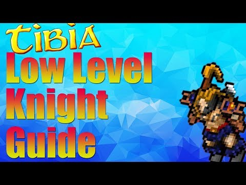Tibia Low Level Knight Guide 8-50 | Gaming By Gamers
