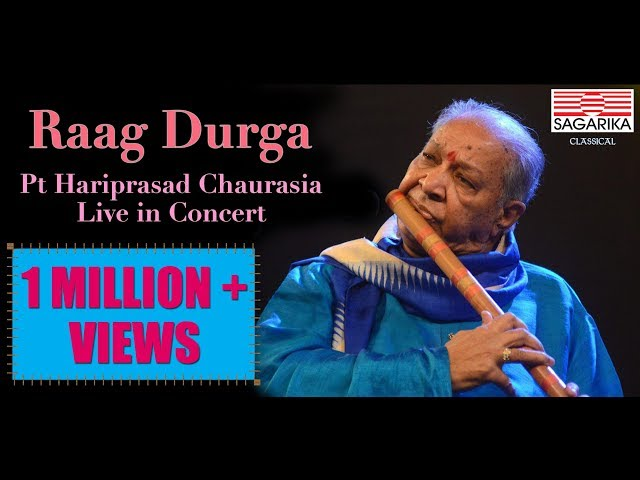 Raag Durga - Pandit Hariprasad Chaurasia / Live in Concert