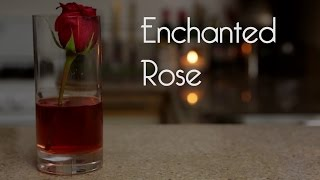 ENCHANTED ROSE for Beauty and the Beast (Drunk Disney Libation Studios #34)