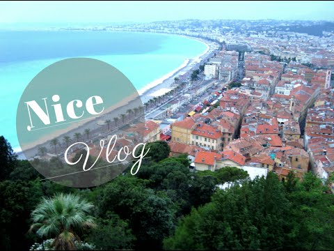 A Tour In Nice By Tourist Train | Nice Vlog                                      فلوق نيس
