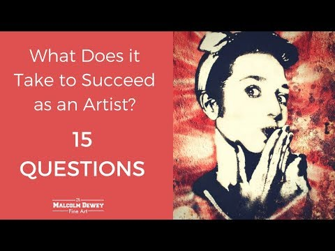 What Does it Take to Succeed as an Artist?