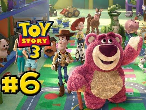 Toy story 3 the video-game part 6 bonnie's house (hd gameplay.