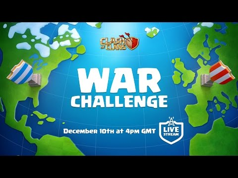 Clash of Clans War Challenge - LIVE