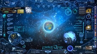 Real Futuristic Computer Interface