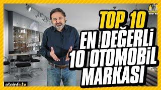 Top 10: En Değerli 10 Otomobil Markası