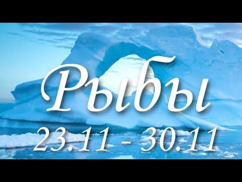 Прогноз на неделю с 23 по 30 ноября для представителей знака зодиака Рыбы