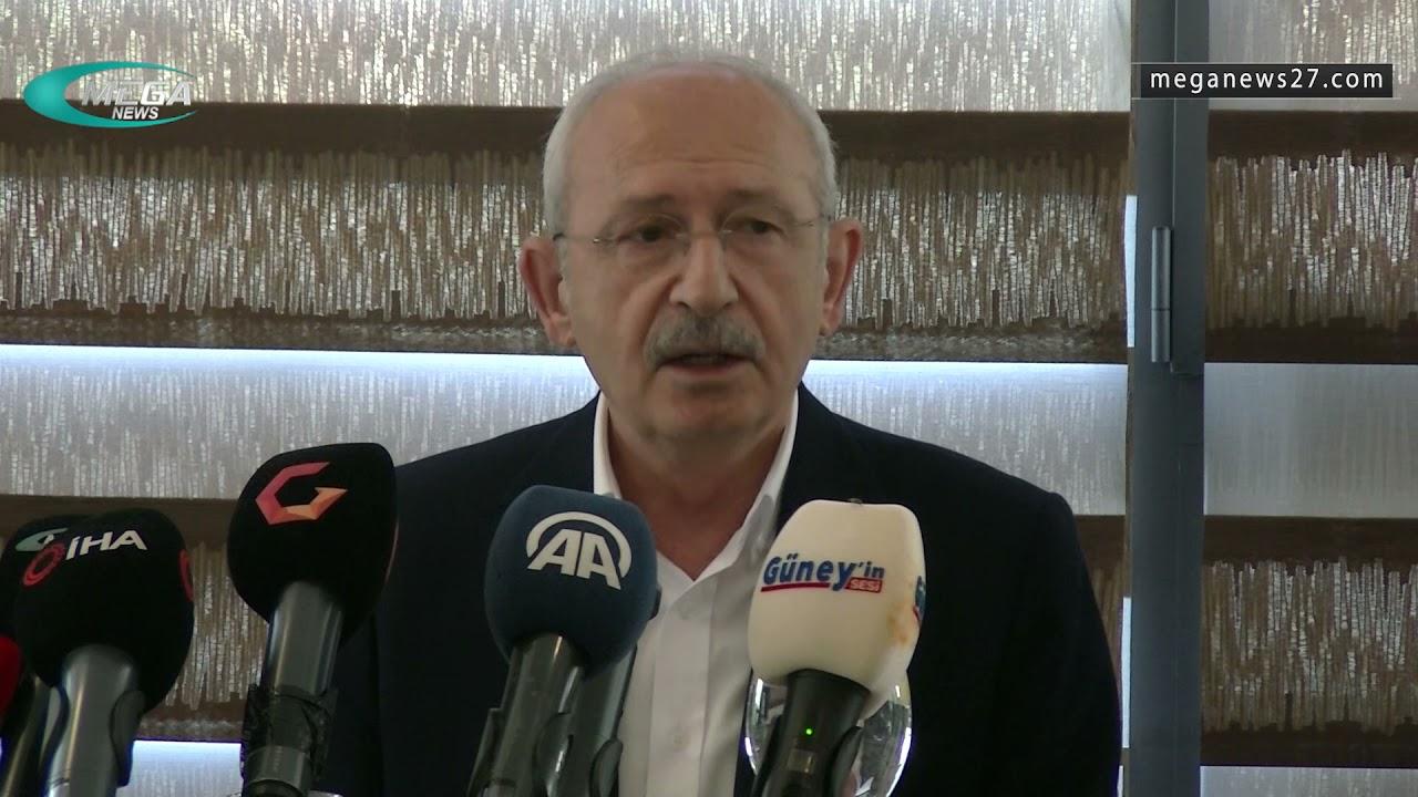 تصريحات كمال قليجدار أوغلو حول السوريين في تركيا