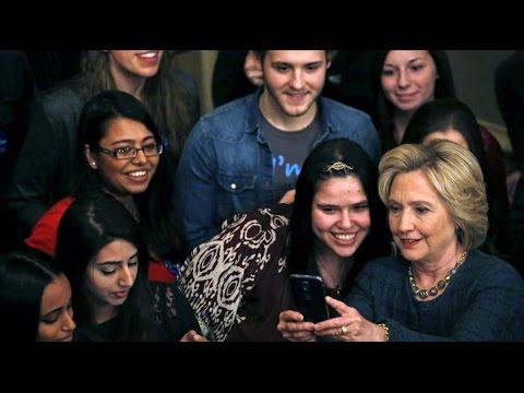 'Enthusiasm gap between millennials and Hillary Clinton' – radio host