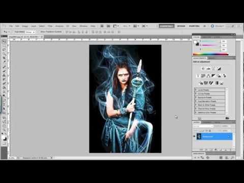 Adobe Photoshop Clipping Mask Tutorial