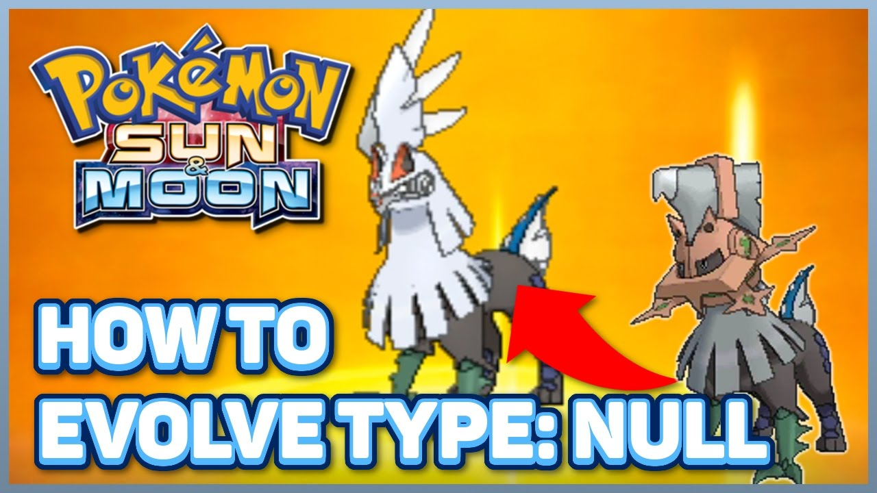 How To Evolve Type Null Into Silvally In Pokémon Sun And Moon How To Increase Pokémon Happiness Youtube