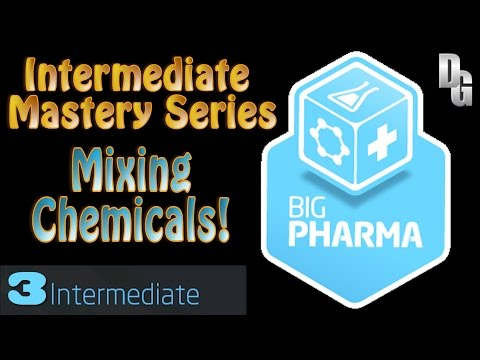 Big Pharma ► Episode 3 ► Mixing Drugs - Intermediate Mastery Series!