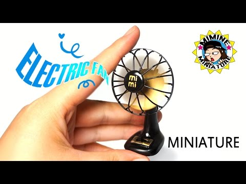 [ENG Sub] Miniature DIY - Real Electric fan / Mimine Miniatu