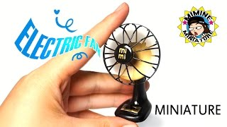 [ENG Sub] Miniature DIY - Real Electric fan / Mimine Miniature