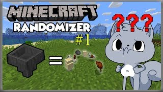 I CAN'T GET WOOD | Minecraft Randomizer Survival #1