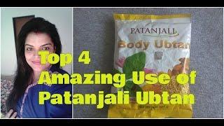 PATANJALI BODY UBTAN use for Face, PATANJALI UBTAN for FAIR SKIN and FACIAL HAIR, Review in Hindi