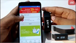 Review    GOQii Fitness Tracker with Personal Coaching    Call & Message notification Test    Hindi screenshot 5