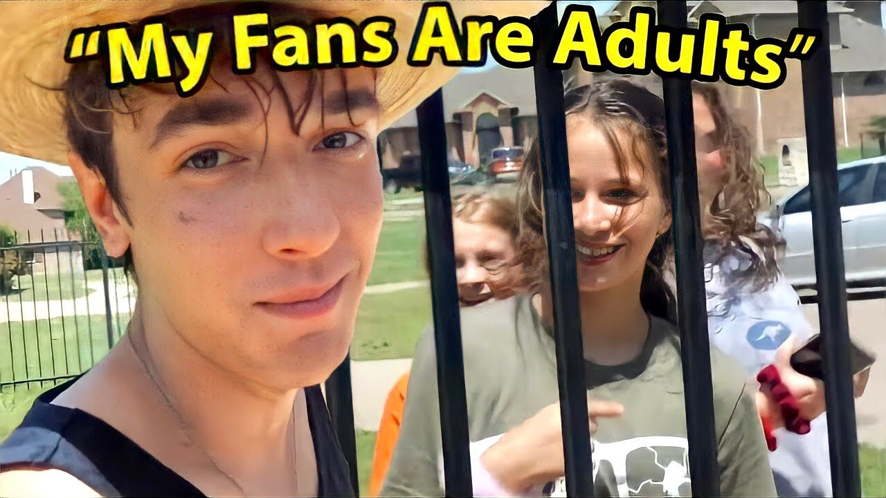 delusional child entertainer thinks his fans are adults ...