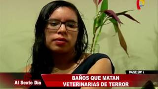 Repeat youtube video Veterinarias del Terror: vivir o morir en el baño