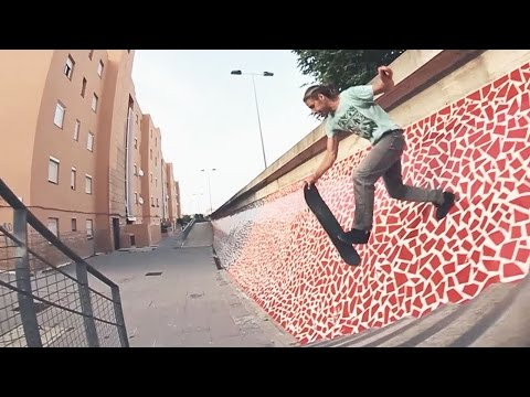 Sebastian Hofbauer Skateboarding videos Street Lines With Creative Finesse