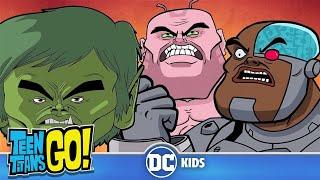 Teen Titans Go! En Español | ¡Pongámonos serios! | DC Kids