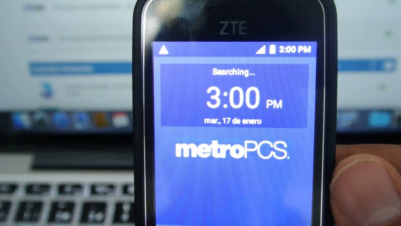 ZTE Z320 METRO PCS Unlock Code