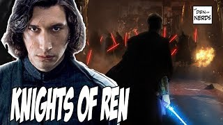 Star Wars Episode 9 Leaks Explained   Knights of Ren's Role