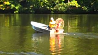 Running the Dragonfly outboard motor 3