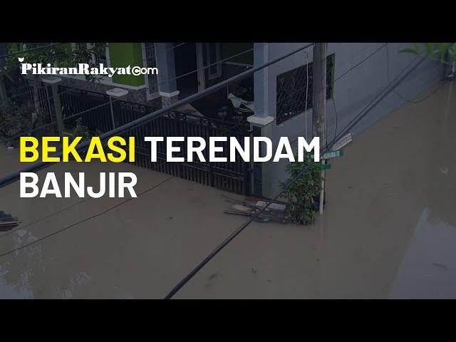 Tinggi Air Lebih dari 7 Meter Akibatkan Banjir di Bekasi, Evakuasi Berlangsung Dini Hari