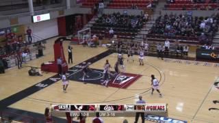 Highlights of Eastern Women's Basketball against Montana ( Jan. 26).