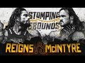 WWE Stomping Grounds 2019 - Roman Reigns vs Drew McIntyre thumbnail