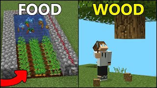 5 BEST Farms f๐r a New World! [Minecraft]
