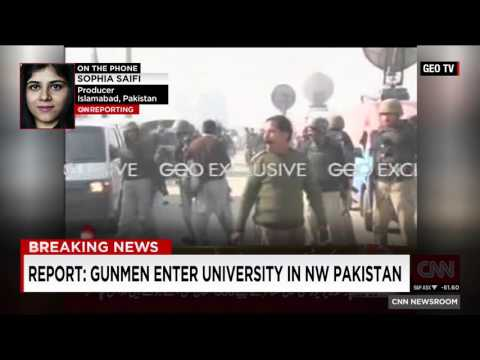 Gunfire Heard At Pakistan University