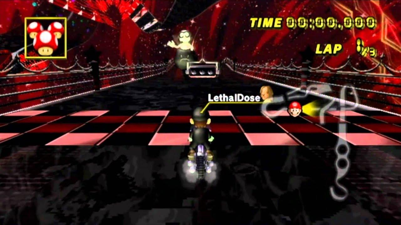 Mario kart custom black