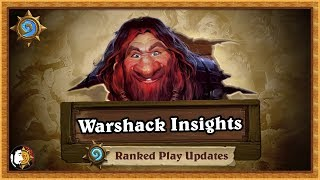 Hearthstone: Upcoming Ranked/Constructed Changes