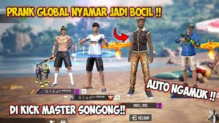 Download lagu DI KICK BERKALI KALI SAMA MASTER SONGONG !! AUTO NGAMUK !! FREEFIRE BATTLEGROUND