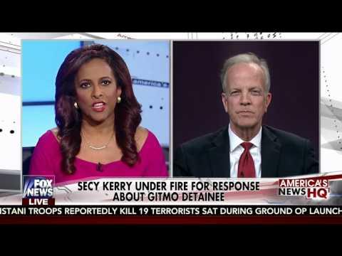 Sen. Jerry Moran Discusses GITMO on Fox News