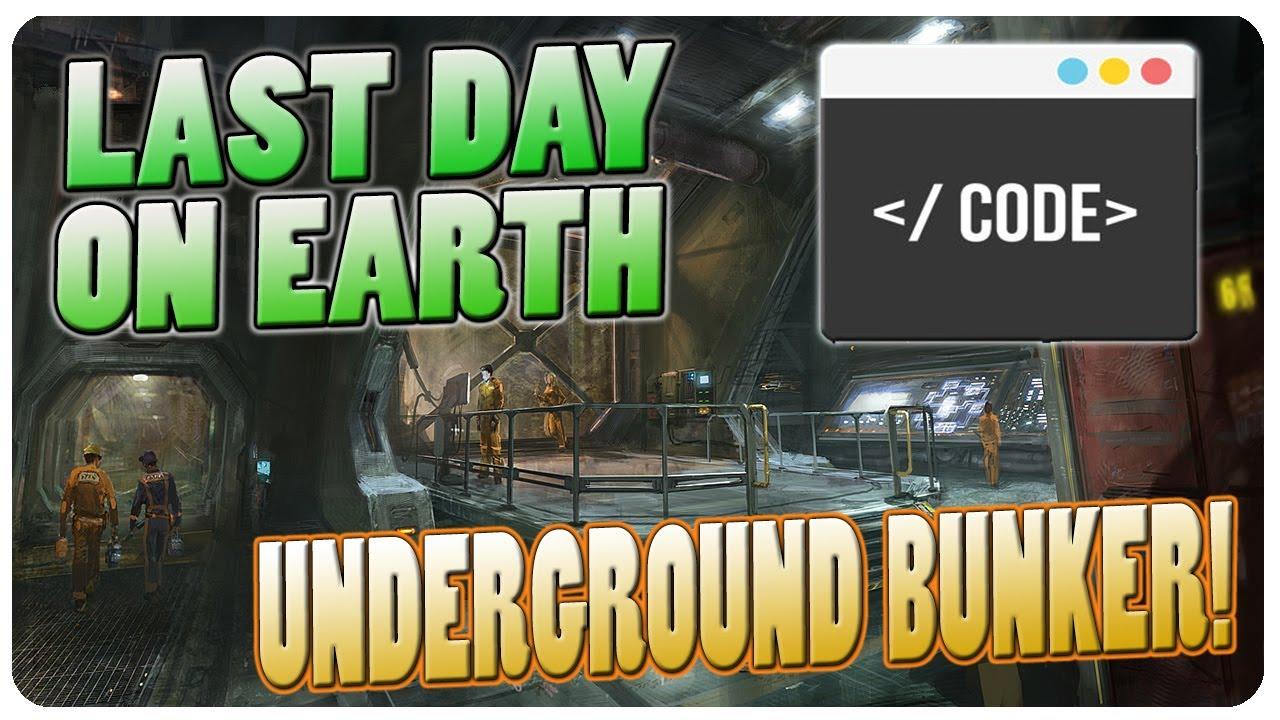 last day on earth survival пароль от бункера