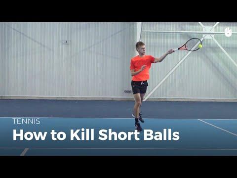How To Kill Short Balls | Tennis