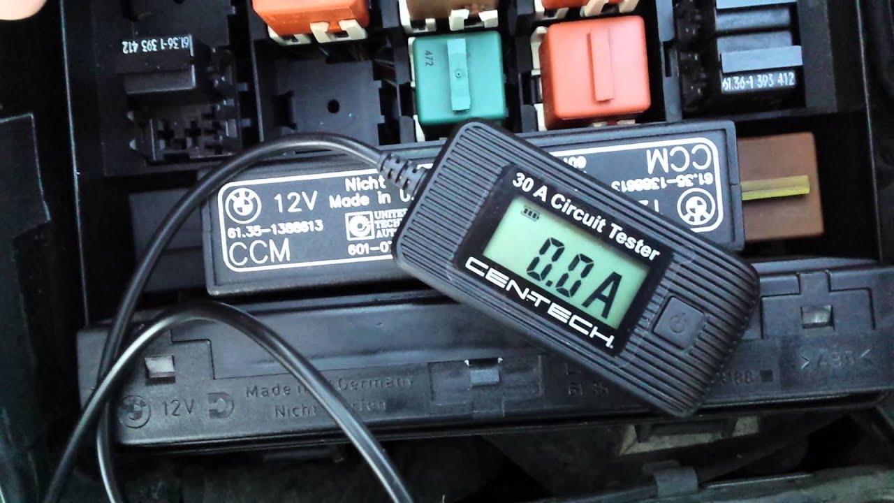 93 e34 bmw fuse test youtube 2006 hyundai sonata alternator fuse e34 fuse box location [ 1280 x 720 Pixel ]