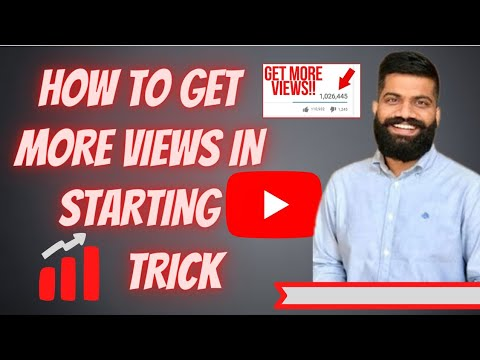 Download HOW TO GET VIEWS IN STARTING OF YOUTUBE  CHANNEL PROOF 2020TRICK 