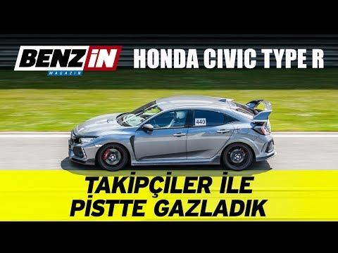 Takipçiler ile pistte gazladık | Honda Civic Type R |  Intercity Istanbul Park Pist Günleri 2019