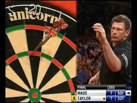 phil taylor 9 dart finish