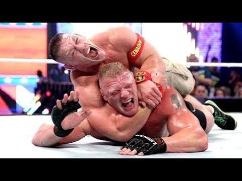 WWE Jhon Cena Vs Brok Lesnar